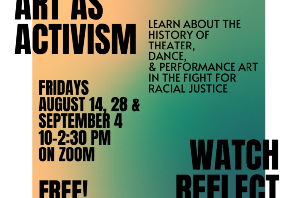 Art as activism for web