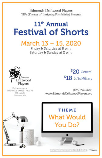 Poster 11th Festival of shorts With Theme 768x1187