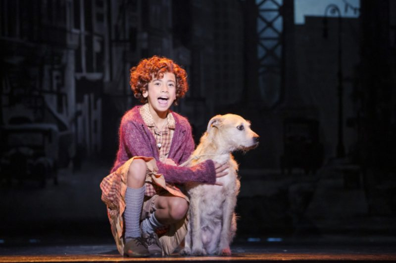 Visesia Fakatoufifita Alternates The Title Role In Annie At The 5Th Avenue Theatre   Photo Credit Tracy Martin 600X400