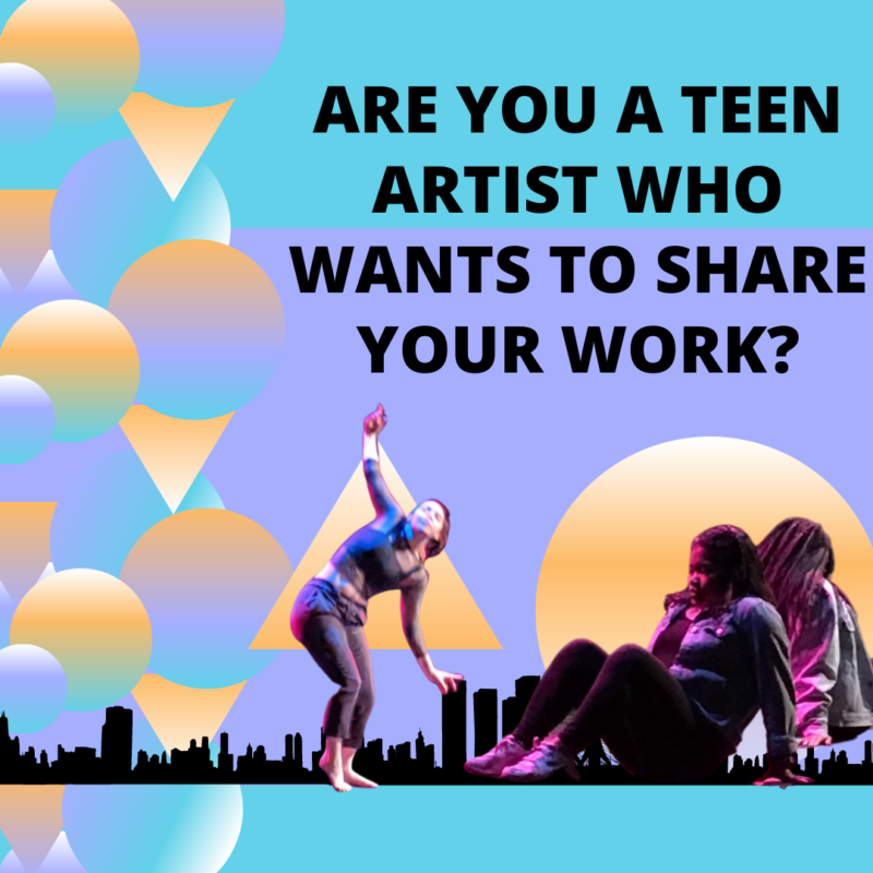 Were inviting teen artists of all disciplines to share their work at the 2020 Teeny Awards 1