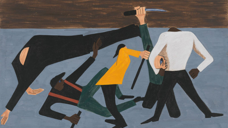 Jacoblawrence Migrationseries Panel52 Wide B10619838Bb35F14Eed0083E2530A51B37F6Fda7