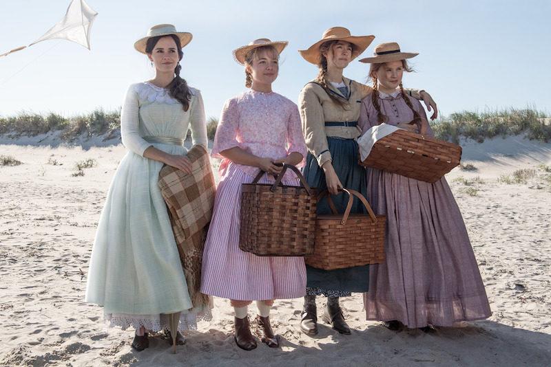 Little women beach