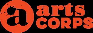 Arts Corps Logo Horz CMYK red