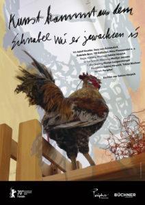 Films art comes from the beak poster Kunst kommt aus dem Schnabel Plakat