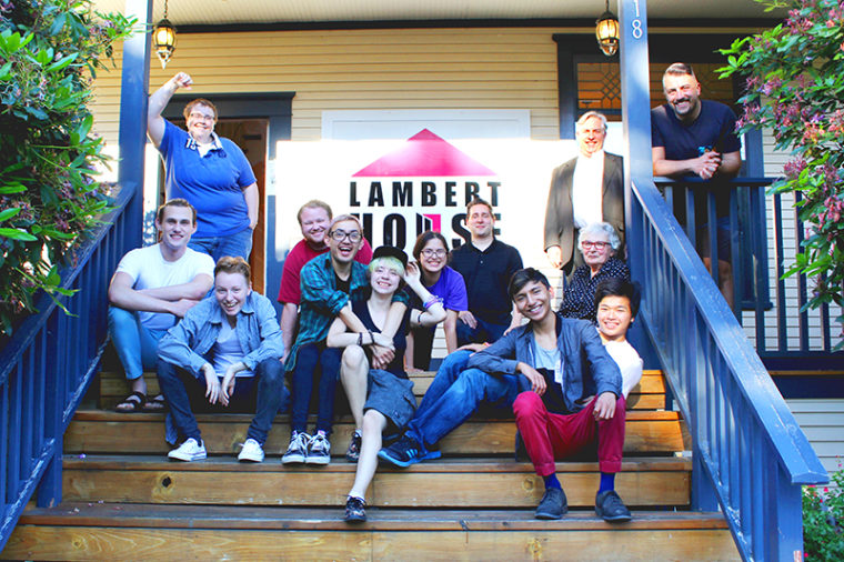 Lambert House Group Shot Normal Sign