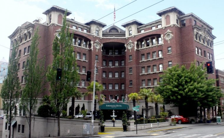Washington Seattle Sorrento Hotel Exterior