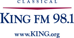 Classical King Fm Logo Red Blue