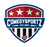 Comedysportz Shield Reversed